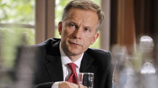 Governor of the Central Bank of Latvia Ilmars Rimsevics.