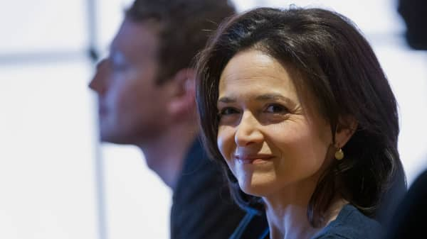 Sheryl Sandberg, chief operating officer of Facebook, was once chief of staff for U.S. Treasury Secretary Lawrence Summers.