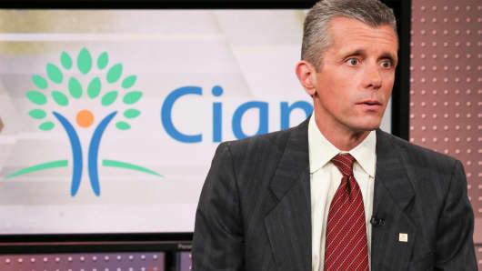 David Cordani, chief executive officer of Cigna Corp.