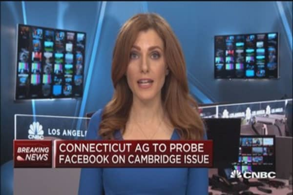 Conn. AAG to probe facebook on Cambridge Issue