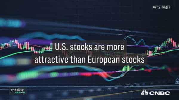 Stocks are volatile here in the U.S., but it's even worse across the pond