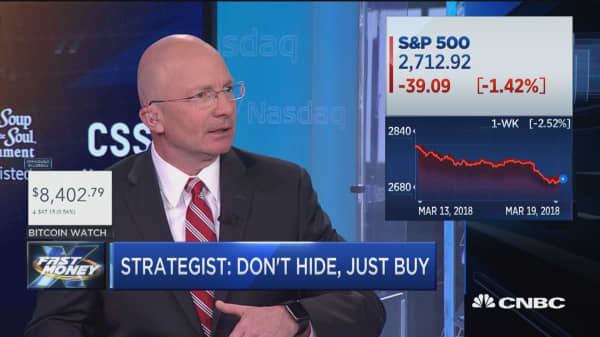 There's no need to hide, just buy, strategist says