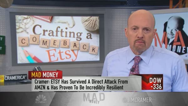 Cramer: Etsy is a buy after proving it can stave off Amazon