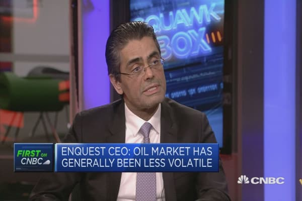 Oil market generally less volatile this year, EnQuest CEO says