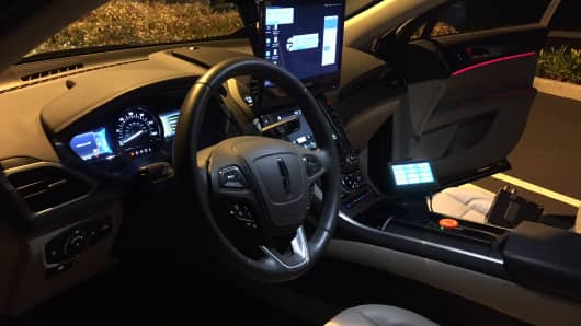 Interior of Phantom Auto.
