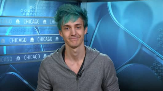 """Tyler Blevins, known as Ninja, is a popular player of """"Fortnite"""" on Twitch."""