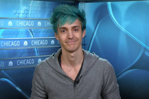 "Tyler Blevins, known as Ninja, is a popular player of ""Fortnite"" on Twitch."
