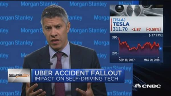 Analyst: Uber accident impact on self-driving tech