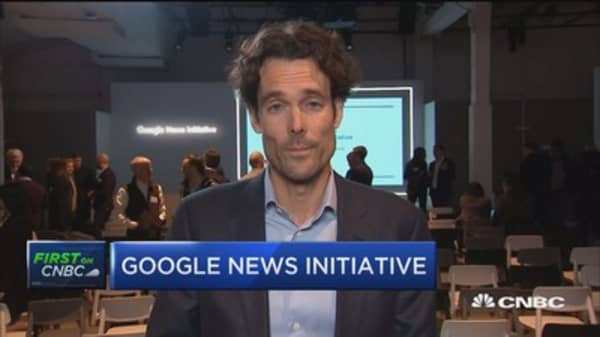 Google's Philipp Schindler: We're shifting more toward authoritative sources for breaking news