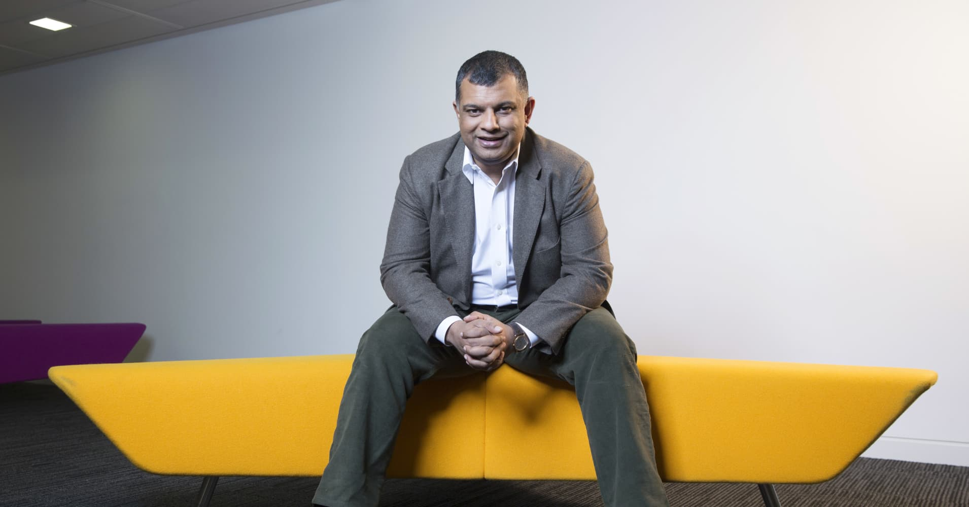 Tony Fernandes, chief executive officer of AirAsia Bhd.,
