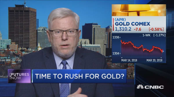 Gold 'jitters' to fade and prices will rise, metals expert predicts