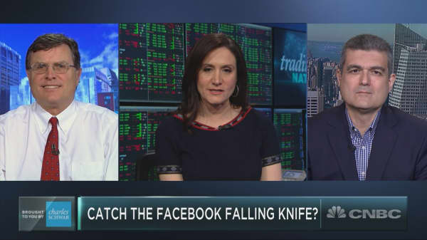 Should you catch the Facebook falling knife?