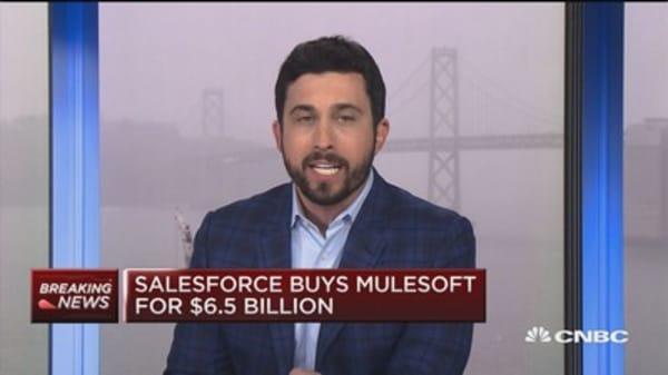 Salesforce to acquire Mulesoft for $6.5 billion