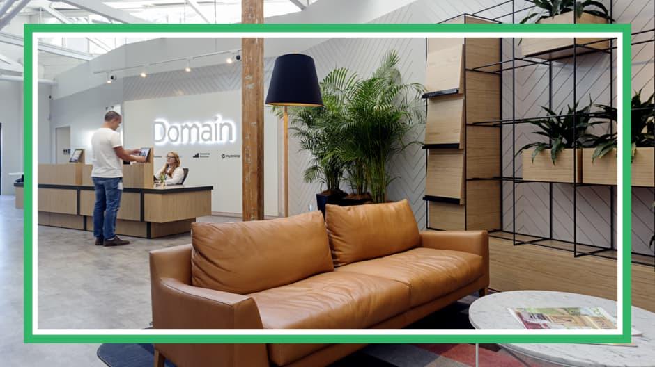Inside Domain's Sydney office