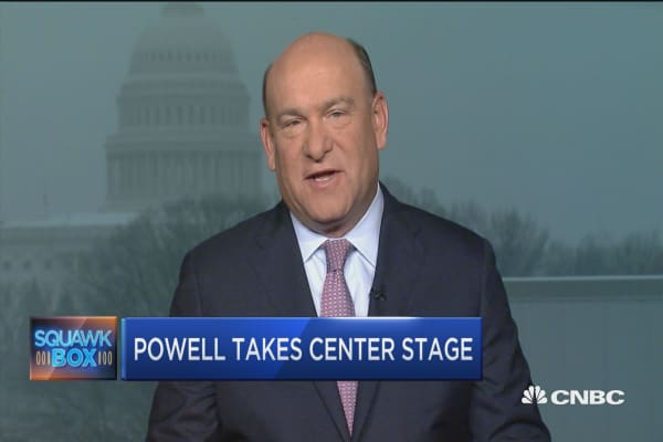 Fed's Jerome Powell takes center stage