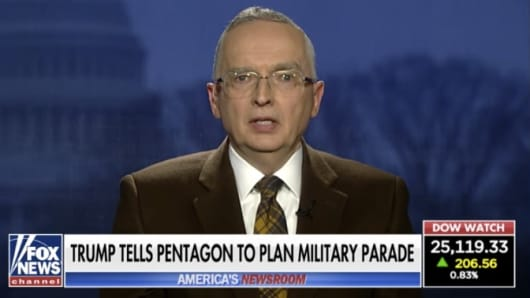 Retired Lt. Col. Ralph Peters on Fox News.