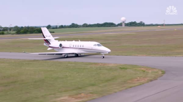 NetJets unveils its latest private jet for London