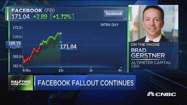 Altimeter Capital's Brad Gerstner buying the dip in Facebook