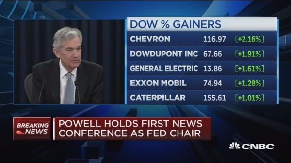 Powell: These are policymakers' forecasts, not staff forecasts