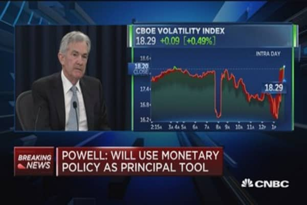 Powell: There are incentives in tax bill to encourage productivity