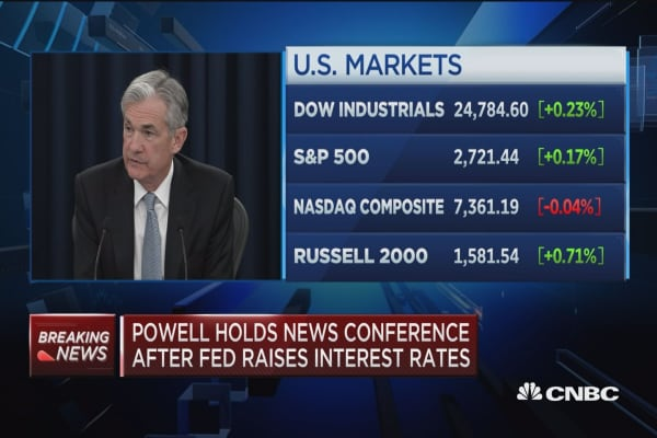 Powell: Financial stability vulnerabilities are moderate