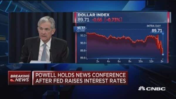 Powell: Surprised in only modest wage growth