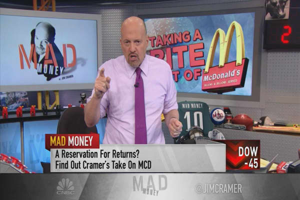 Cramer highlights the value of McDonald's: The current pullback is a 'gift'