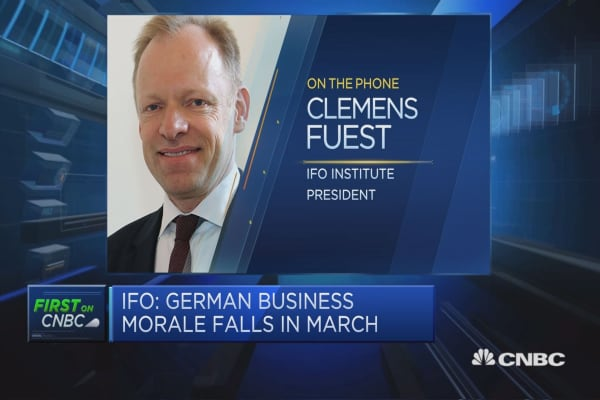 Threat of protectionism dampening the mood in the German economy