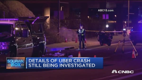 Tempe police release video of Uber collision