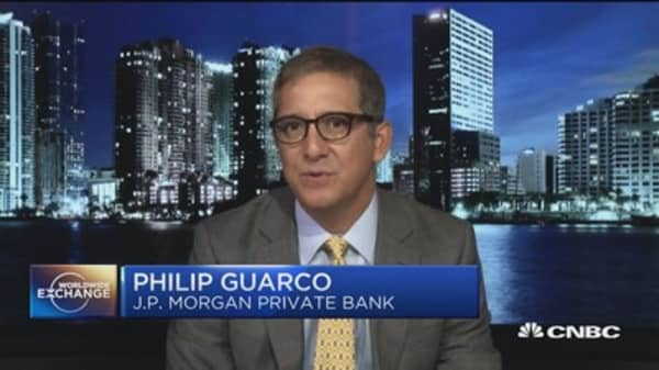 Philip Guarco talks about market reaction to the spending bill