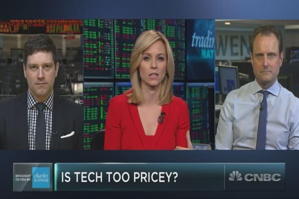 Despite recent volatility, tech stocks are still flying high