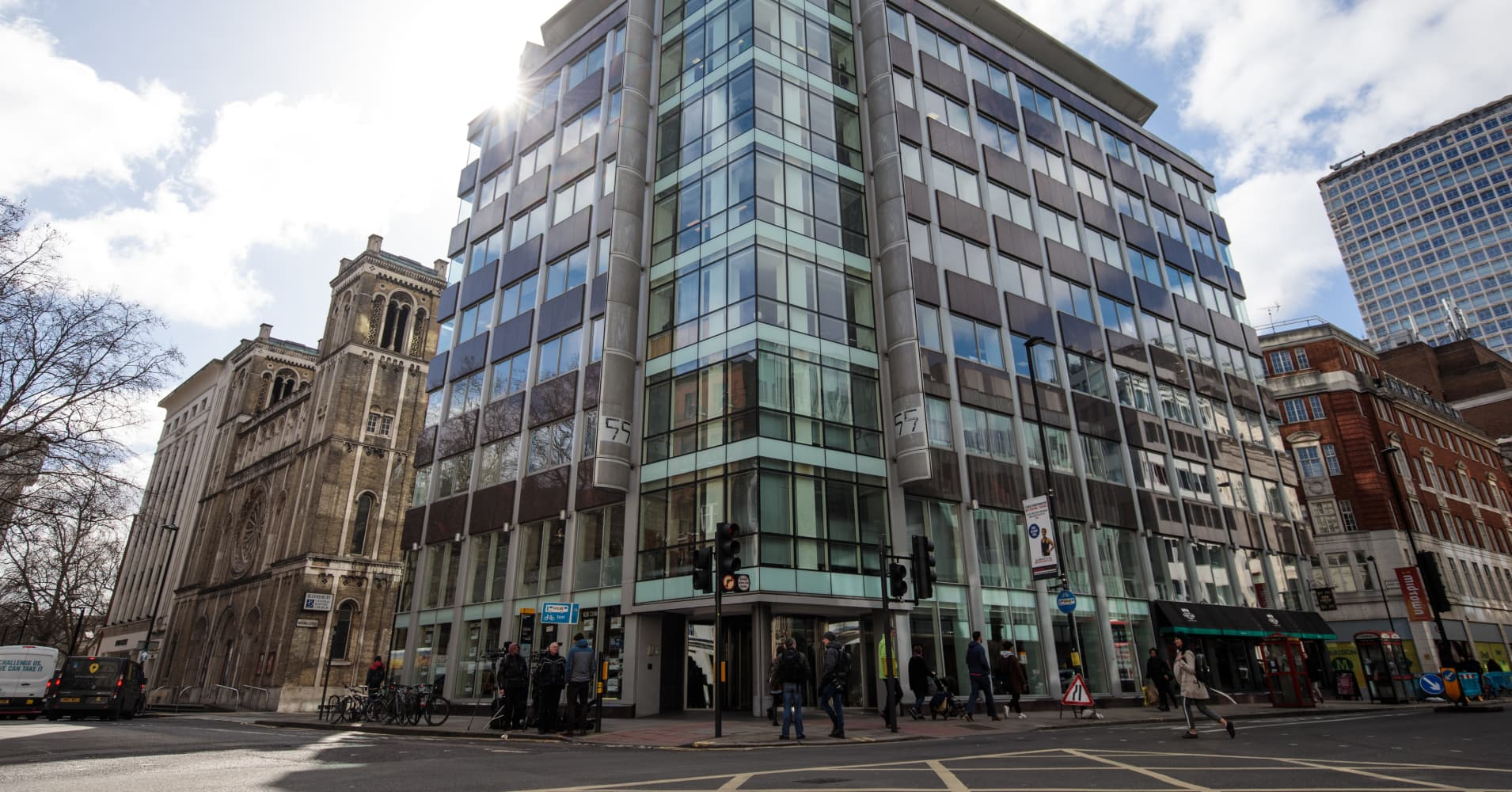 Suspicious package found near London offices