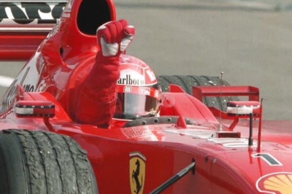 Schumacher winning
