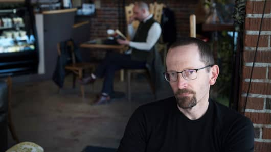 David Harlan worked for IBM for 15 years from his home in Moscow, Idaho, where he also runs a drama company. David Harlan worked for IBM for 15 years from his home in Moscow, Idaho, where he also runs a drama company.
