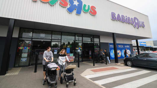 Toys R Us and Babies R Us stores