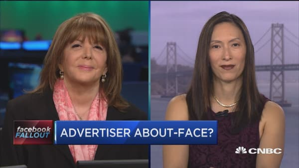 This brand leadership expert says she sees advertisers pulling out of Facebook
