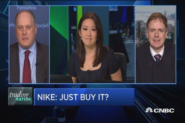Trading Nation: Just buy Nike?