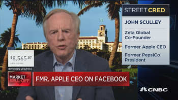 Former Apple CEO speaks out on the Facebook fallout