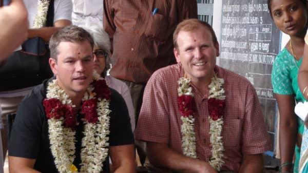 Here's how Matt Damon is helping fight the world's water crisis