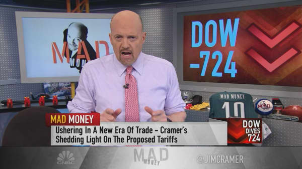 Cramer: This decline isn't about the Fed. It's about Trump and the elites