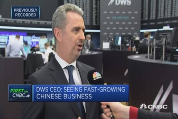 Asset management arm CEO: Listing is proof Deutsche is doing well