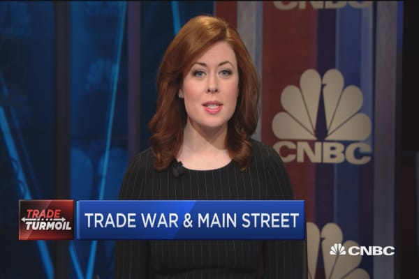 Main Street weighs in on trade war possibility