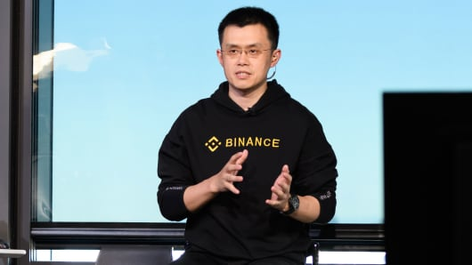 Zhao Changpeng, chief executive officer of Binance