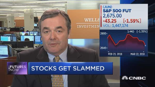 Trade war worries to linger, but markets headed higher: Wells Fargo