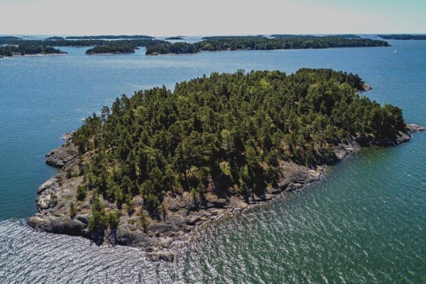 SuperShe Island off the coast of Finland.