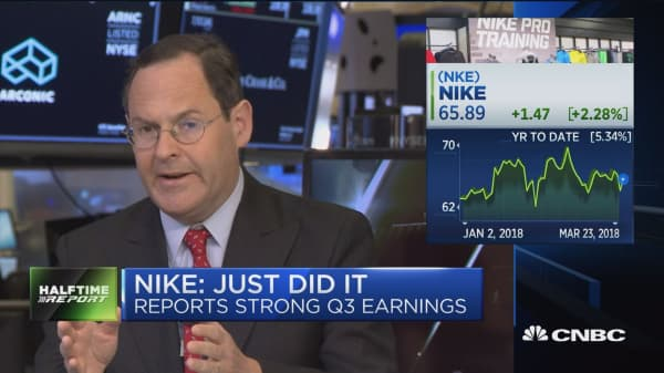Nike reports strong Q3 earnings