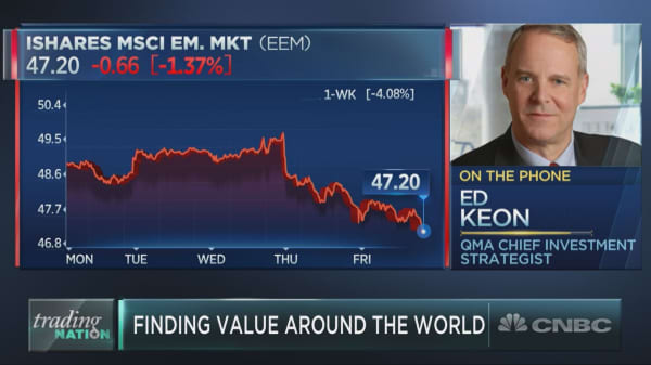 Amid global turmoil, one strategist identifies a top value play in the market