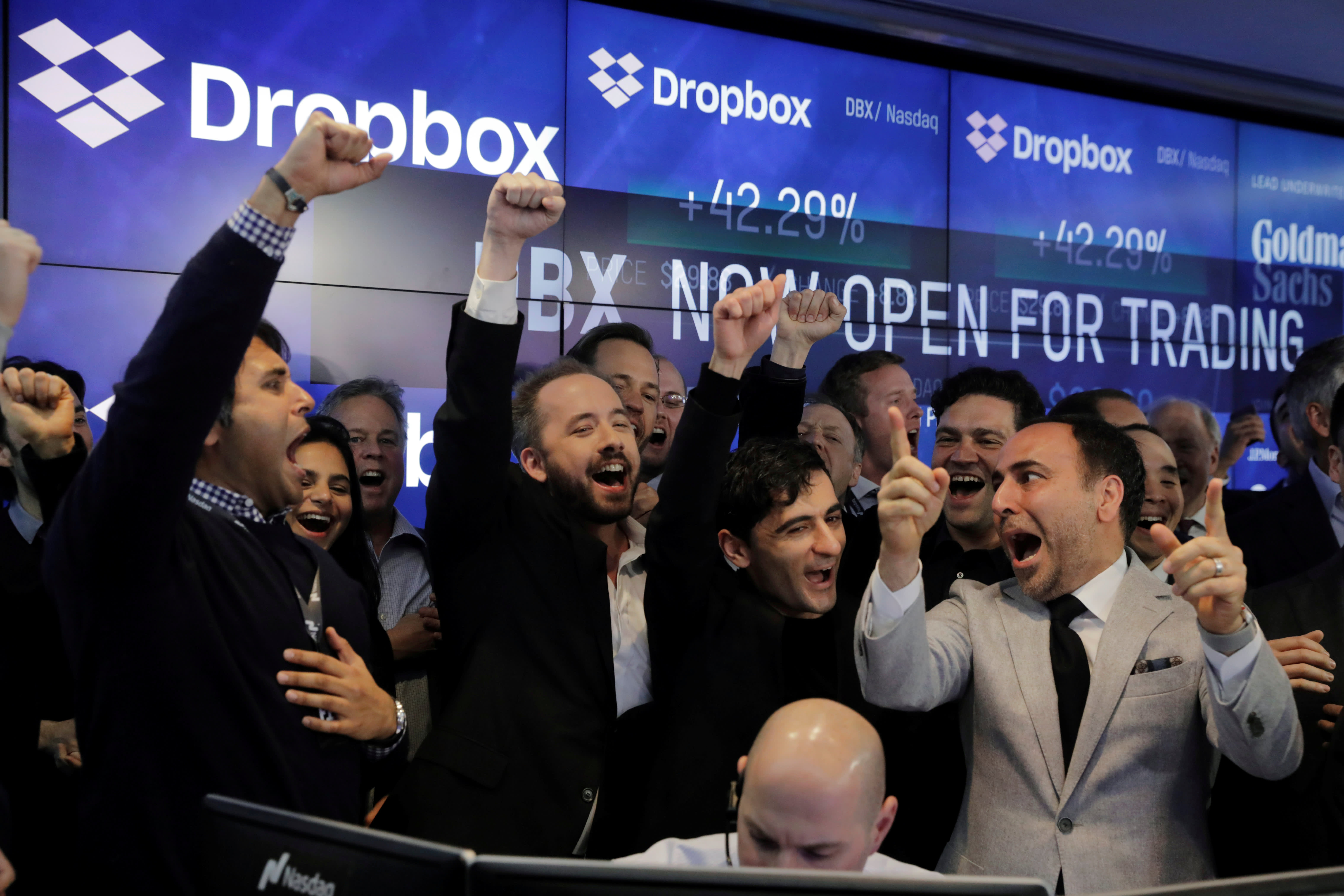 Dropbox Dbx Stock Sees Best Day Since Ipo On Massive Trading Volume