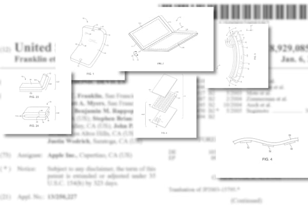 Apple has filed multiple patents for foldable electronics. In March, a Bank of America Merrill Lynch analyst wrote that a foldable iPhone could debut by 2020, and potentially expand into a tablet.
