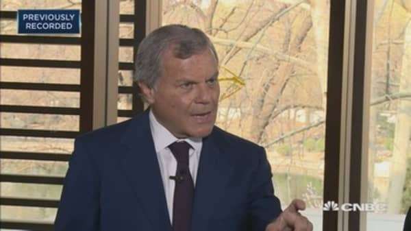 Martin Sorrell on Facebook Cambridge Analytica